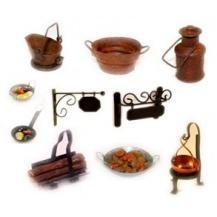 Miniaturas de metal  para el belen