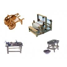 Complementos miniatura de oficios artesanales