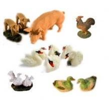 Animales de resina miniatura