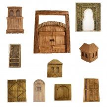 Puertas y ventanas miniatura