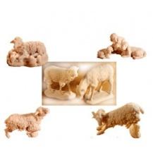 Animales miniatura de resina para pintar