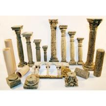 Columnas y capiteles miniatura