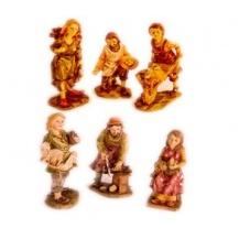 Figuras de resina miniatura