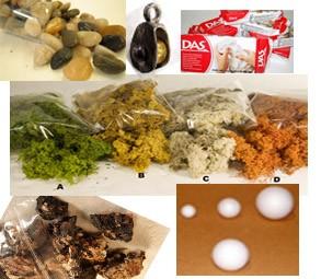 Materias primas para belenes