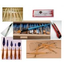 Herramientas de trabajo utilizadas en belenes