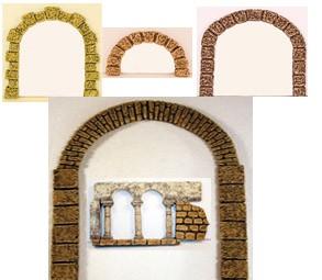 Arcos de resina miniatura