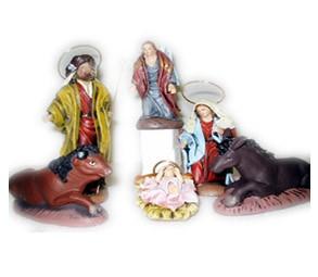 Figuras de barro miniaturas