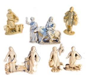Figuras de resina miniatura para pintar