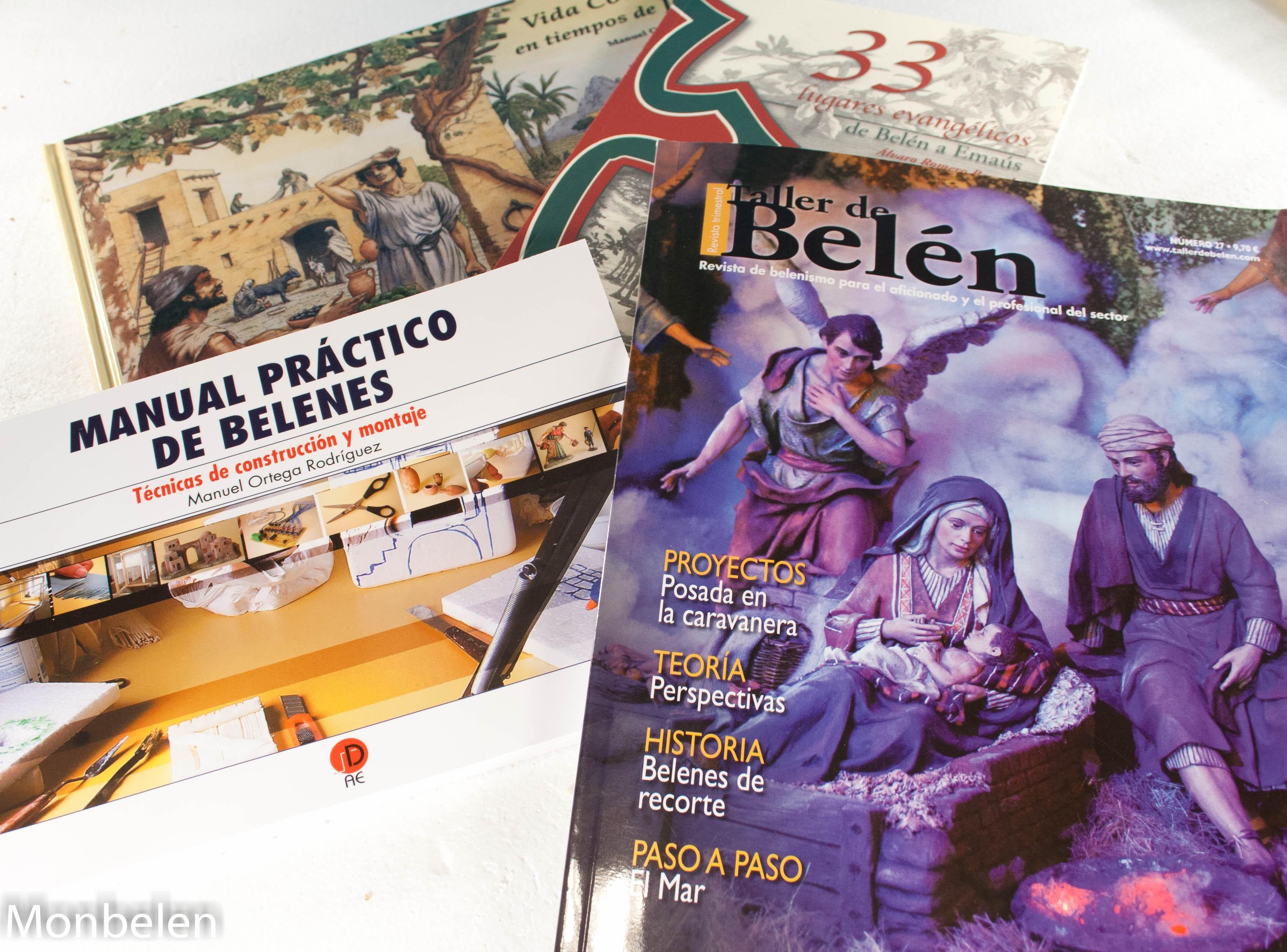 LIBROS Y REVISTAS SOBRE EL MUNDO DEL BELEN
